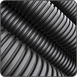 Corrugated Perforated Drainage Pipe